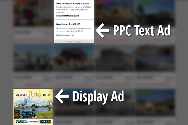 Mobile home online ads