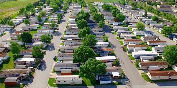 Mobile home park data report sample